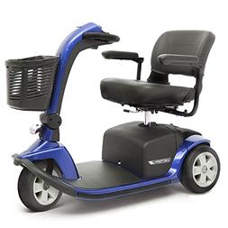 VICTORY 10 Pride 3-wheel Electric Scooter SC610 BLUE + Chall