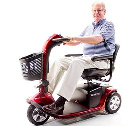 VICTORY 10 Pride 3-wheel Electric Scooter SC610 Red + Challe