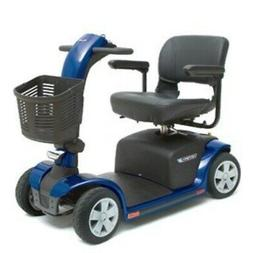VICTORY 9 Pride Mobility 4-wheel Electric Scooter SC709 BLUE