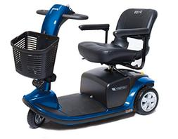 VICTORY 9 Pride Mobility 3-wheel Electric Scooter SC609 BLUE