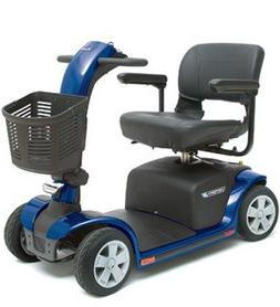 Pride Mobility Victory 9 4-Wheel Scooter, Viper Blue