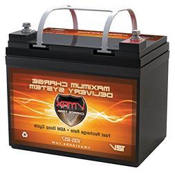 VMAX857-35 -MP AGM 35AH Compatible Wheelchair VMAX Battery f