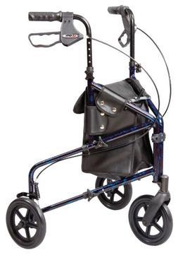 Walker 3 Wheel Trio Roller Walker - Carex Health Brands A333