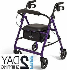 Walkers For Seniors Rollator Walker With Seat And Wheels Rol