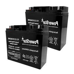 POWERSTAR--2 Year Warranty 12V 22AH SLA Battery for Pride Mo