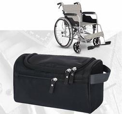 Wheelchair Armrest Storage Side Bag Pocket/Scooter Walker Ro