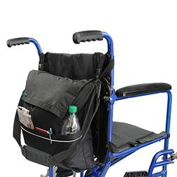 Vive Wheelchair Bag - Wheel Chair Storage Tote Accessory for