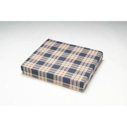 Wheelchair Cushion - Cover Color: Plaid, Size: 4 H x 16 W x
