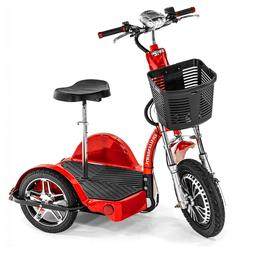 x fast electric mobility scooter ride standing