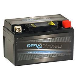 Chrome Battery YTX7A-BS High Performance-Maintenance Free-Se